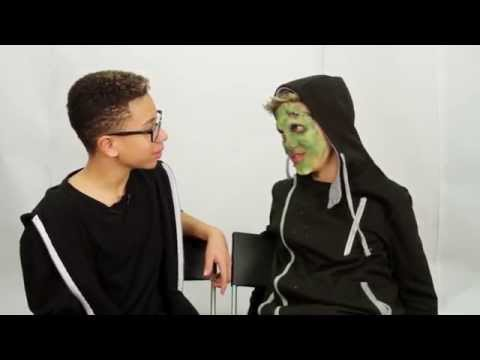 Special effects makeup tutorial by Matt & Grant from the KID