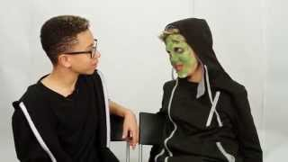 Special effects makeup tutorial by Matt & Grant from the KIDZ BOP Kids ('Ghost' from KIDZ BOP 28)