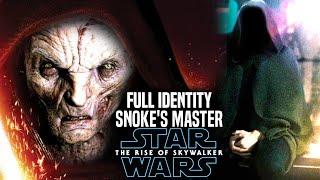 The Rise Of Skywalker Snoke's Master Full Identity Revealed! (Star Wars Episode 9)