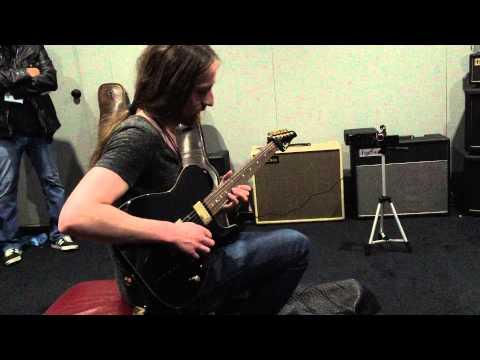 Jack Gardiner playing Friedman Amps NAMM 2015