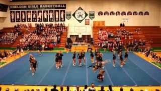 UofO Acrobatic and Tumbling Team Exhibition 2-1-2014