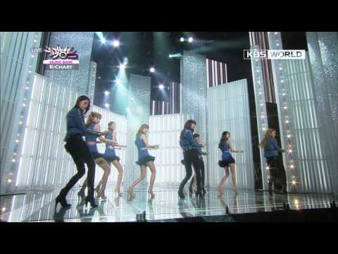 [Music Bank] 9Muses - Dolls (2013.01.25)