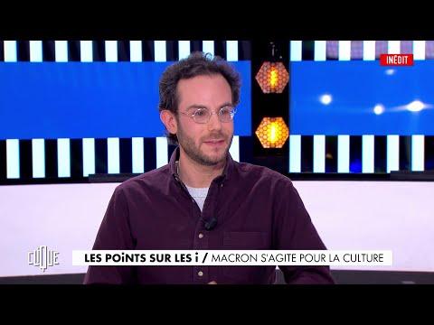 Clément Viktorovitch : Macron s'agite pour la culture - Clique, 20h25 en clair sur CANAL+