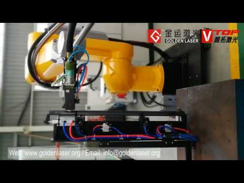 6 Axis Robotic Arm 3D Fiber Laser Metal Tube And Sheet Cutting Machine For Auto Parts