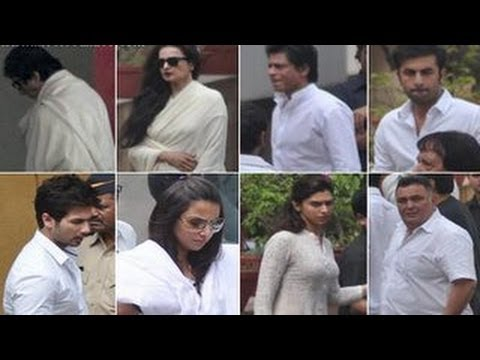 Payal khanna at yash chopra funeral