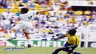 نواف التمياط يجندل البرازيل ويصنع هدف بـ ( الرأس ) .. ! كأس القارات
