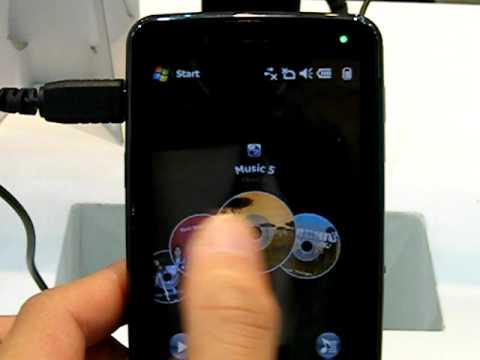 Acer F900手機實機把完音樂選單操作