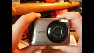 canon Powershot A490 Review - Part 1 of 2