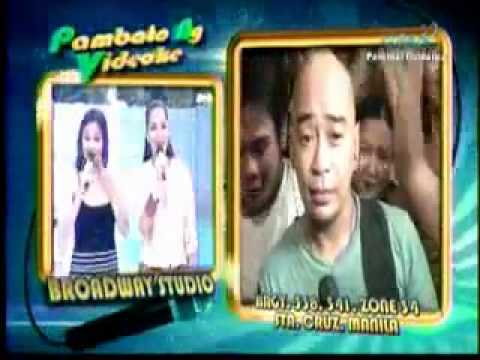 Eat Bulaga PNV - Wally B. & Michael B.(sings Gary V. Gaya ng Dati)