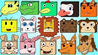 Wild Animals Song | Animal Names Song For Children