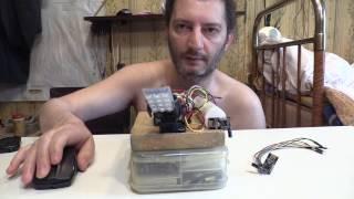 Arduino nRF24L01+ МЫШЬ Беспроводная Wireless PS/2 Mouse Servo Pan Tilt Camera Лайфхак Своими руками