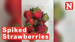 Spiked Strawberries: Boy Arrested For Putting Needles In Fruit
