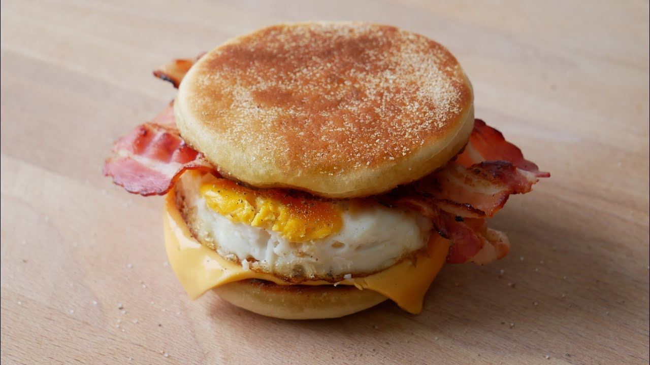 how to make home made egg mcmuffin buns