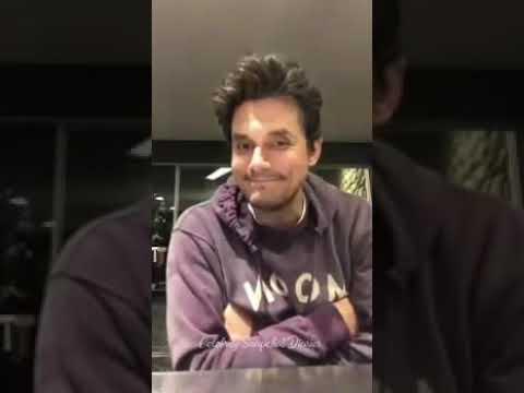John Mayer on Instagram Live- September 24,2018