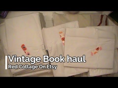 Vintage Book Haul RedCottage On Etsy
