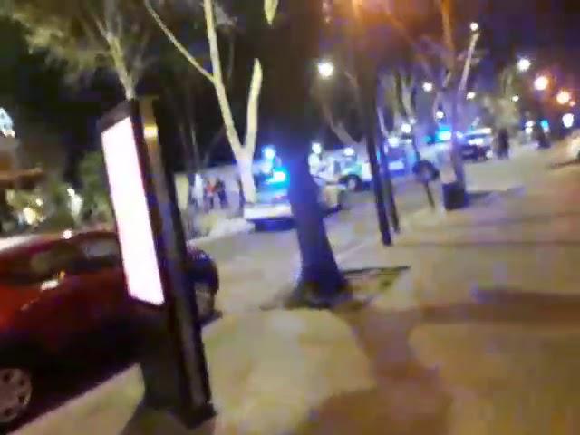 Videos de la gente: protesta salarial de la policía de la provincia