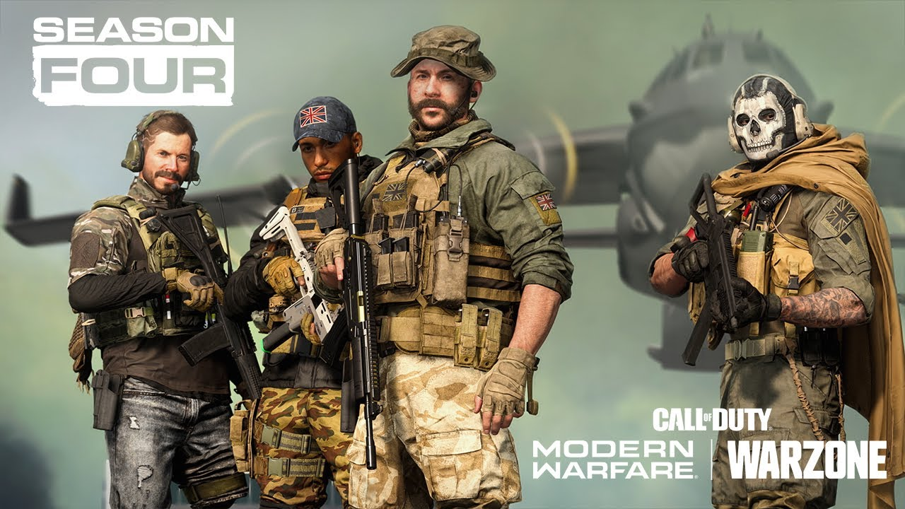 Call Of Duty Modern Warfare Warzone Official Season Four Trailer Youtube