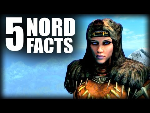 Skyrim - 5 Nord Facts - Elder Scrolls Lore