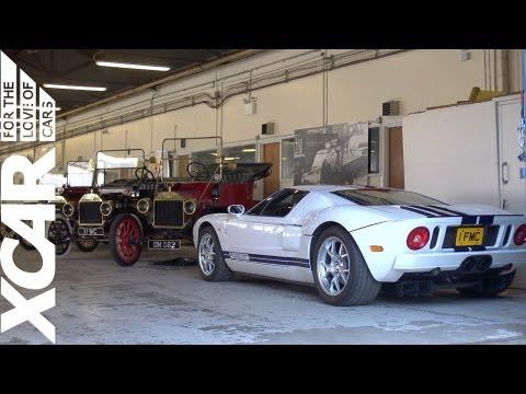 Ford's Secret Heritage Shed - XCAR