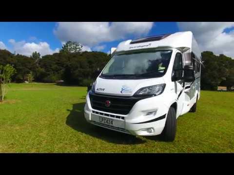 Explorer Motorhome NZ Our latest model Campervan rental in New Zealand