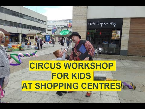 Circus Workshops with Mr Potato