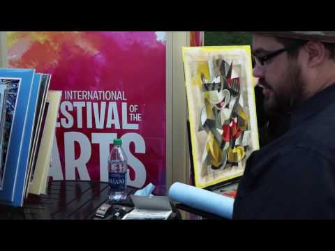 Our First Disney Trip Part 2; Buying art @ the Epcot Festiva