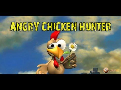 Море курица утка - клон знаменитой Moorhuhn для андроид - игра Angry Chicken Hunter