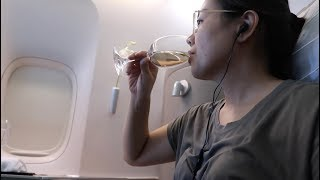 Upgraded to FIRST CLASS on Cathay Pacific Vlog 77