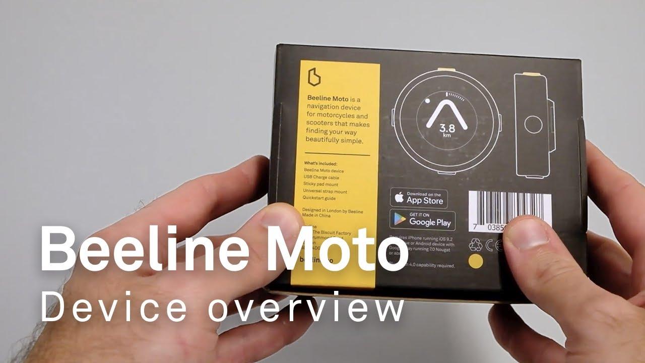Beeline Moto: Device overview