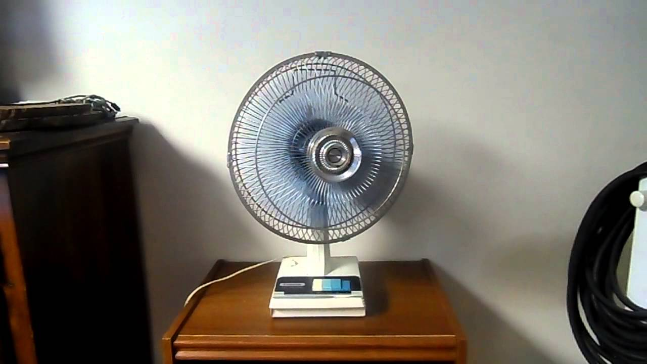 Panasonic Table Fan : S panasonic  table fan w blue chopped blades