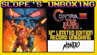 Contra 3 limited edition record from Mondo records unboxing - SGR