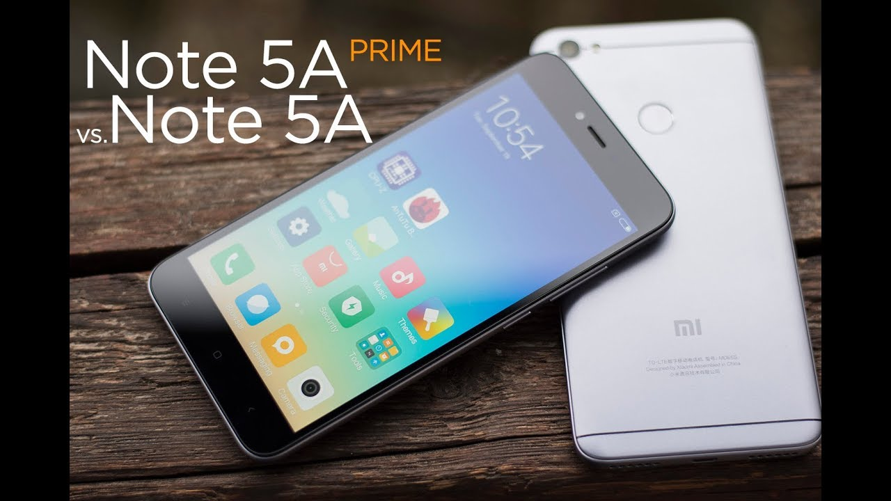 iphone 5 vs redmi note 5a