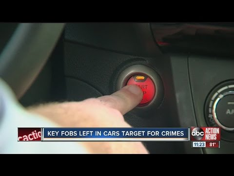 Car thieves looking for key fobs left behind, stealing cars