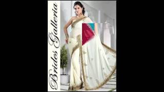 hand embroidered saree Thumbnail