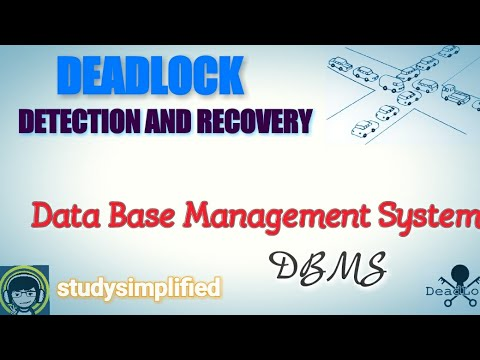 Deadlock - Detection and Recovery in DBMS