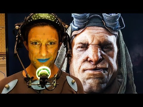 Industrial Light & Magic show off new facial capture - BBC Click