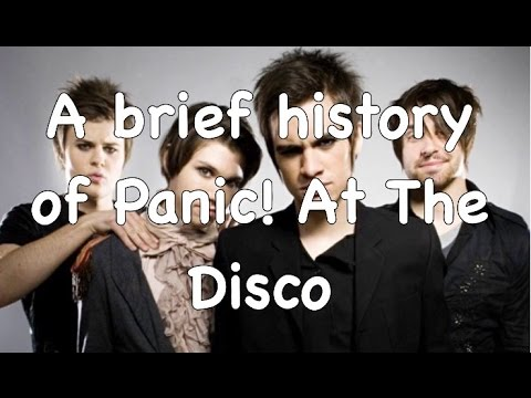 A Brief History of Panic! at the Disco
