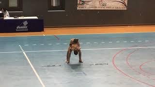 Clemencine et Elysa championne de France benjamine nationale 2 Chimilin