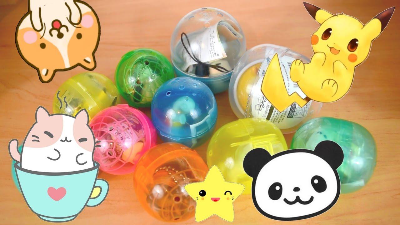 Ouverture 10 Gashapons Kawaii - Pokémon, Toutous, Panda ...