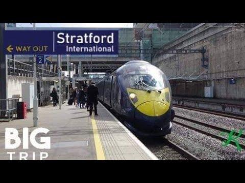 Trains At Stratford International, HS1 - 4/5/19