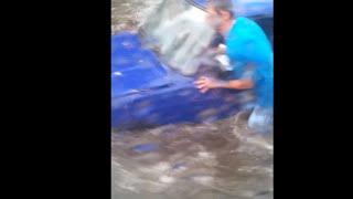 Потоп, град, Черкассы 2 августа 2016 ч.2