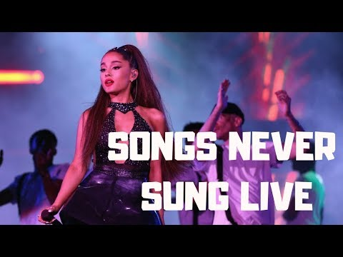 Ariana Grande - Songs Never/Rarely Performed Mp3