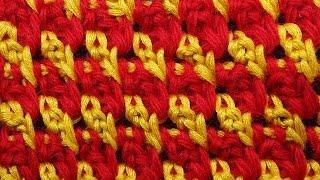 Узоры для вязания крючком видео Tunisian crochet  31(ТОВАРЫ ДЛЯ ВЯЗАНИЯ узоров крючком от производителей* http://ali.pub/i9grj Узоры для вязания крючком видео tunisian..., 2016-03-30T07:32:45.000Z)