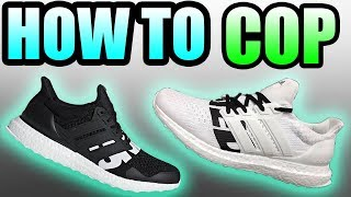 How To Get The UNDEFEATED X ADIDAS ULTRA BOOST ! | Adidas Undefeated Ultra Boost Release Info !