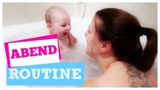 ABEND ROUTINE MIT BABY 👶 | 3 MONATE | SARAH-JANE