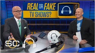 SVP plays 'Real or Fake TV Shows' | SC with SVP