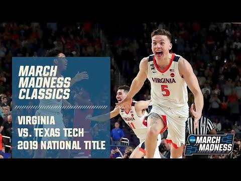 Virginia wins 2019 National Championship vs. Texas Tech (FULL GAME)