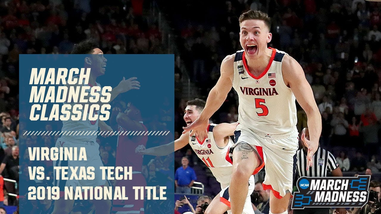 Download Virginia wins 2019 National Championship vs. Texas Tech (FULL GAME)