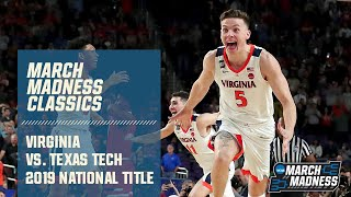 Virginia wins 2019 National Championship vs. Texas Tech (FULL GAME)