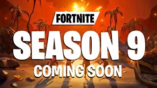 This is SEASON 9 IN FORTNITE Potential Leaks And Skins Loot Lake Event Files LEAKED
